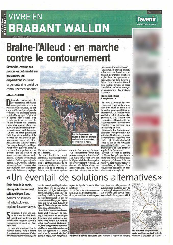 L'Avenir - Le vif 08 juillet 2016