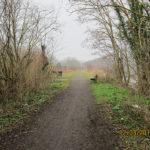 Sur l'ancienne ligne 115 du chemin de fer à Braine-l'Alleud